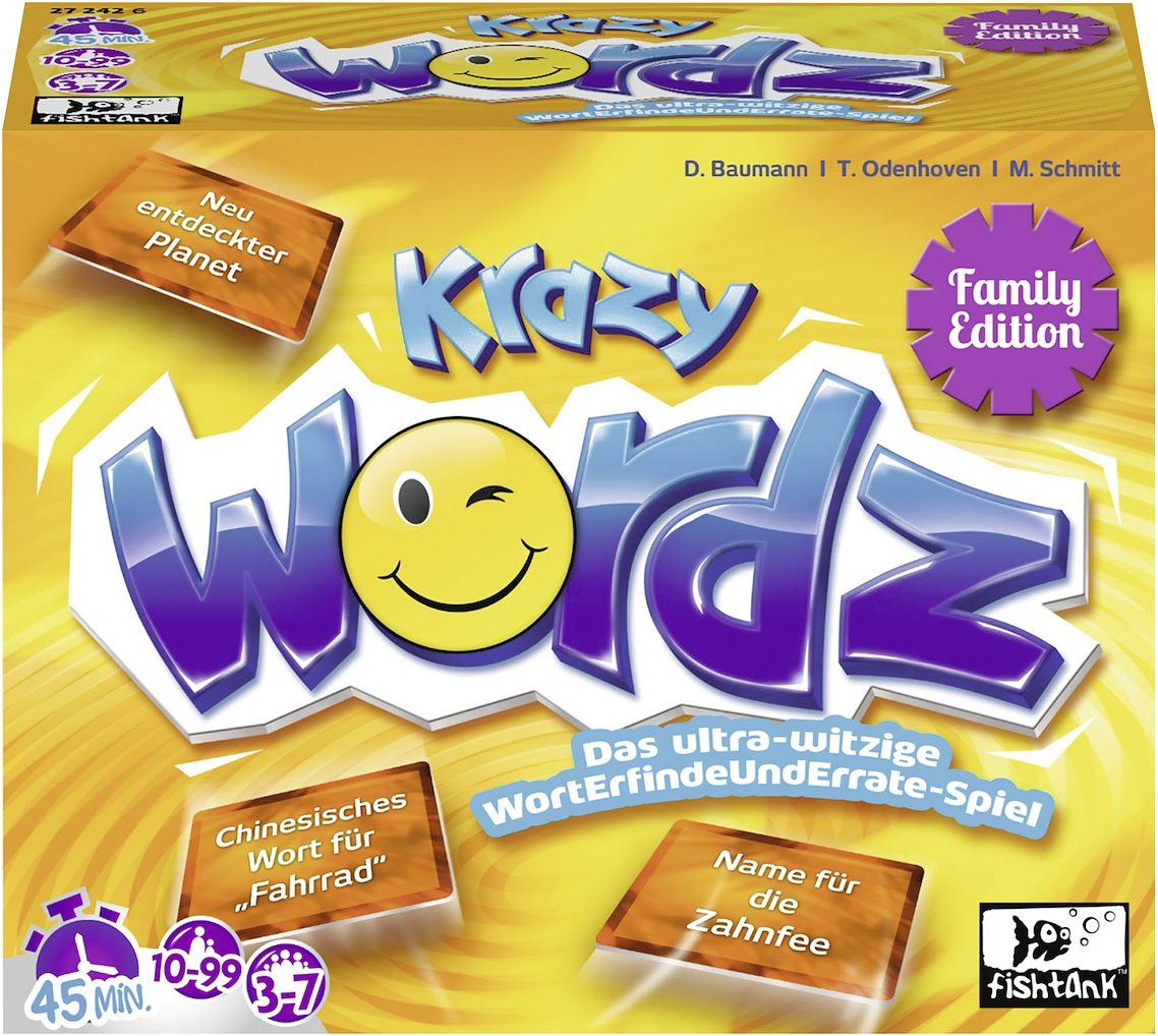 Ravensburger Kartenspiel, »Krazy WORDZ Family«