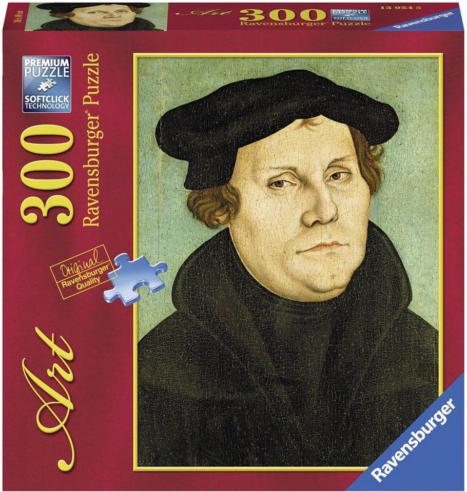 Ravensburger Puzzle, 300 Teile, »Martin Luther Portrait«