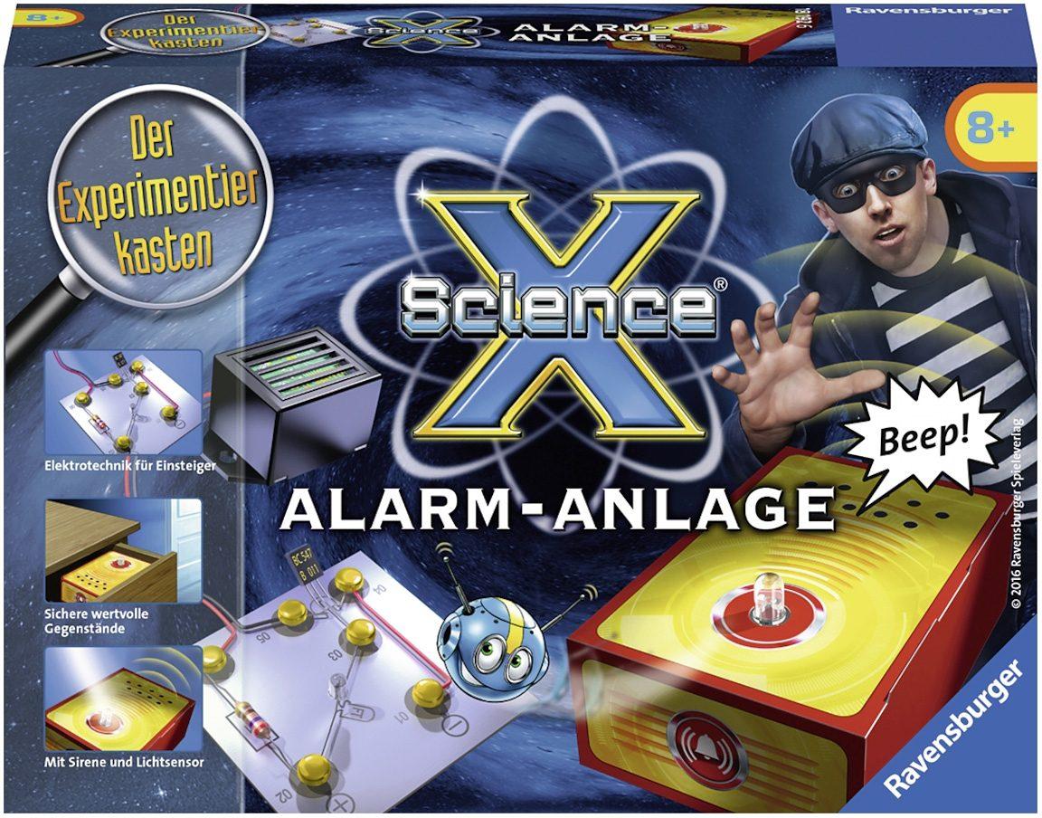 Ravensburger Experimentierkasten, »X Science® Alarm Anlage«