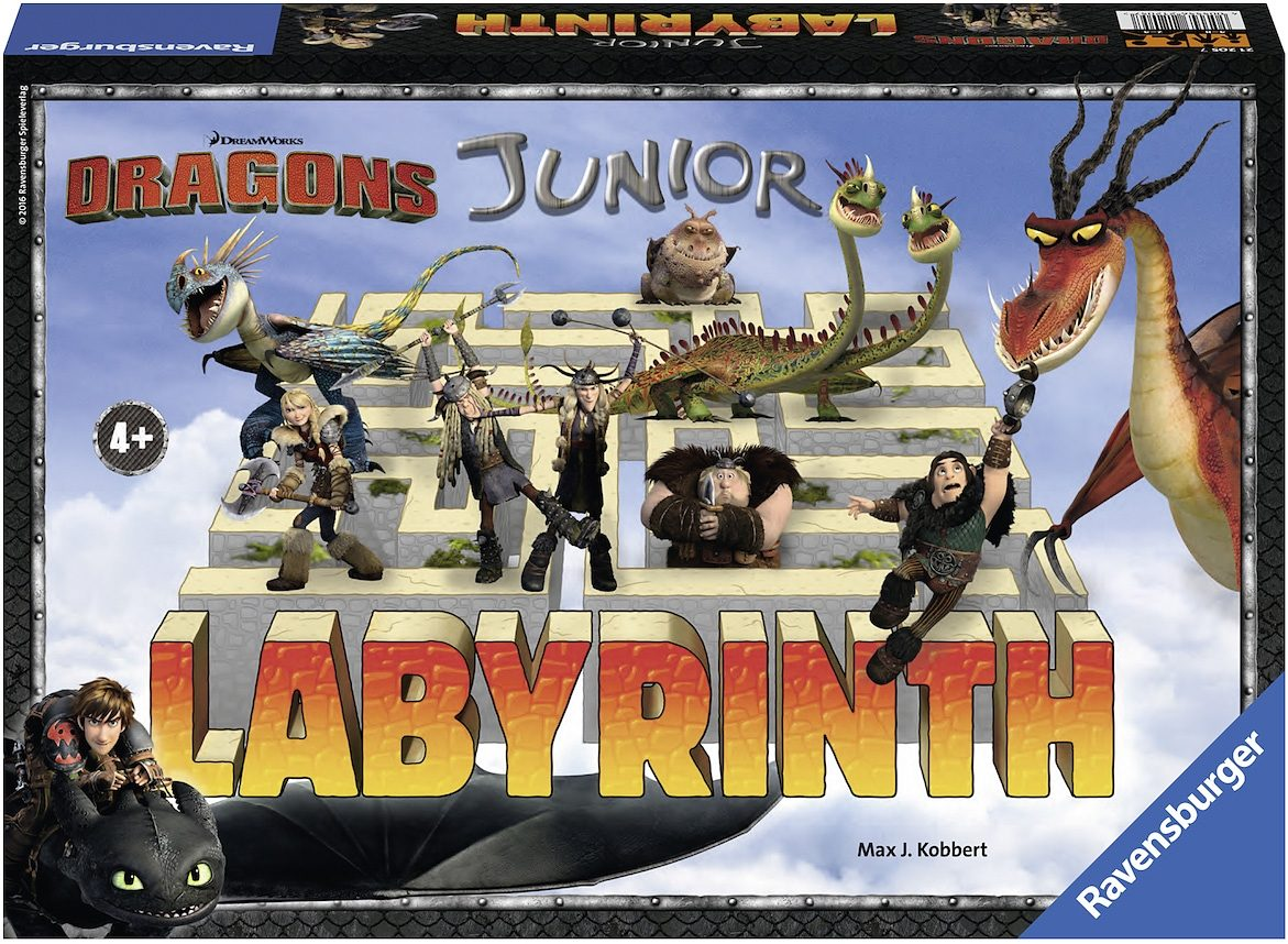 Ravensburger Schiebespiel, »Junior Dragons Das verrückte Labyrinth«