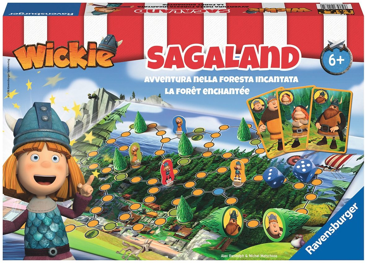 Ravensburger Brettspiel, »Wickie Sagaland«