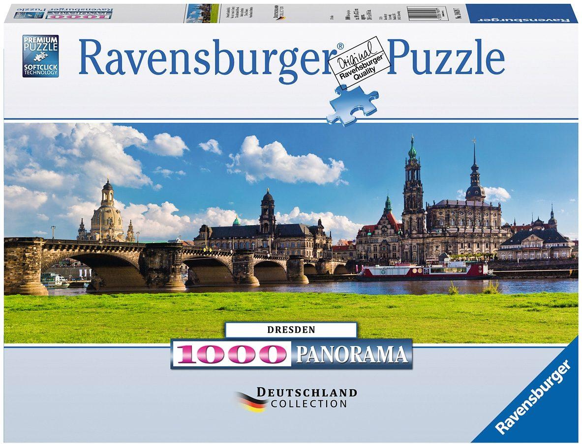 Ravensburger Panoramapuzzle, 1000 Teile , »Dresden«