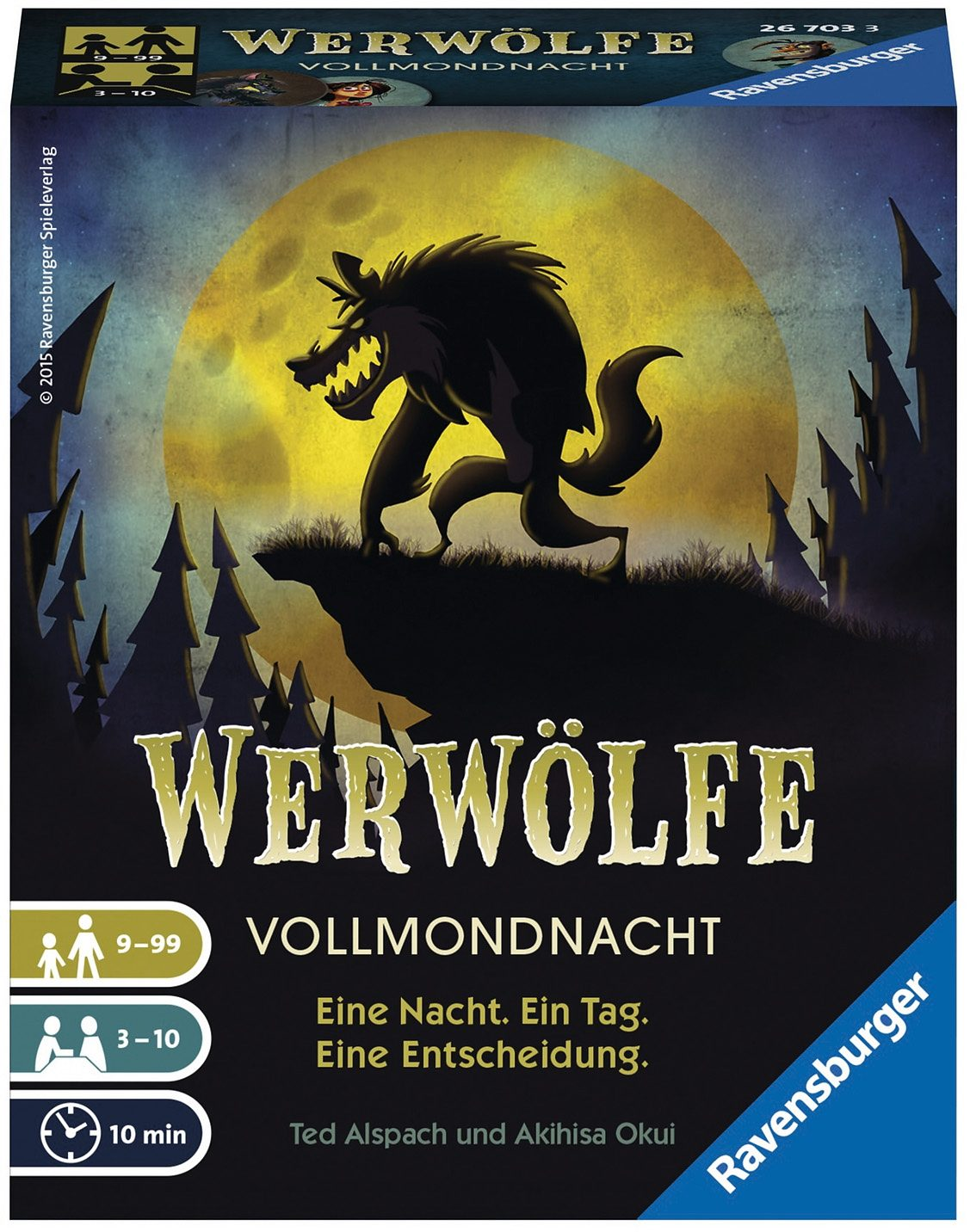 Ravensburger Kartenspiel, »Werwölfe Vollmondnacht«