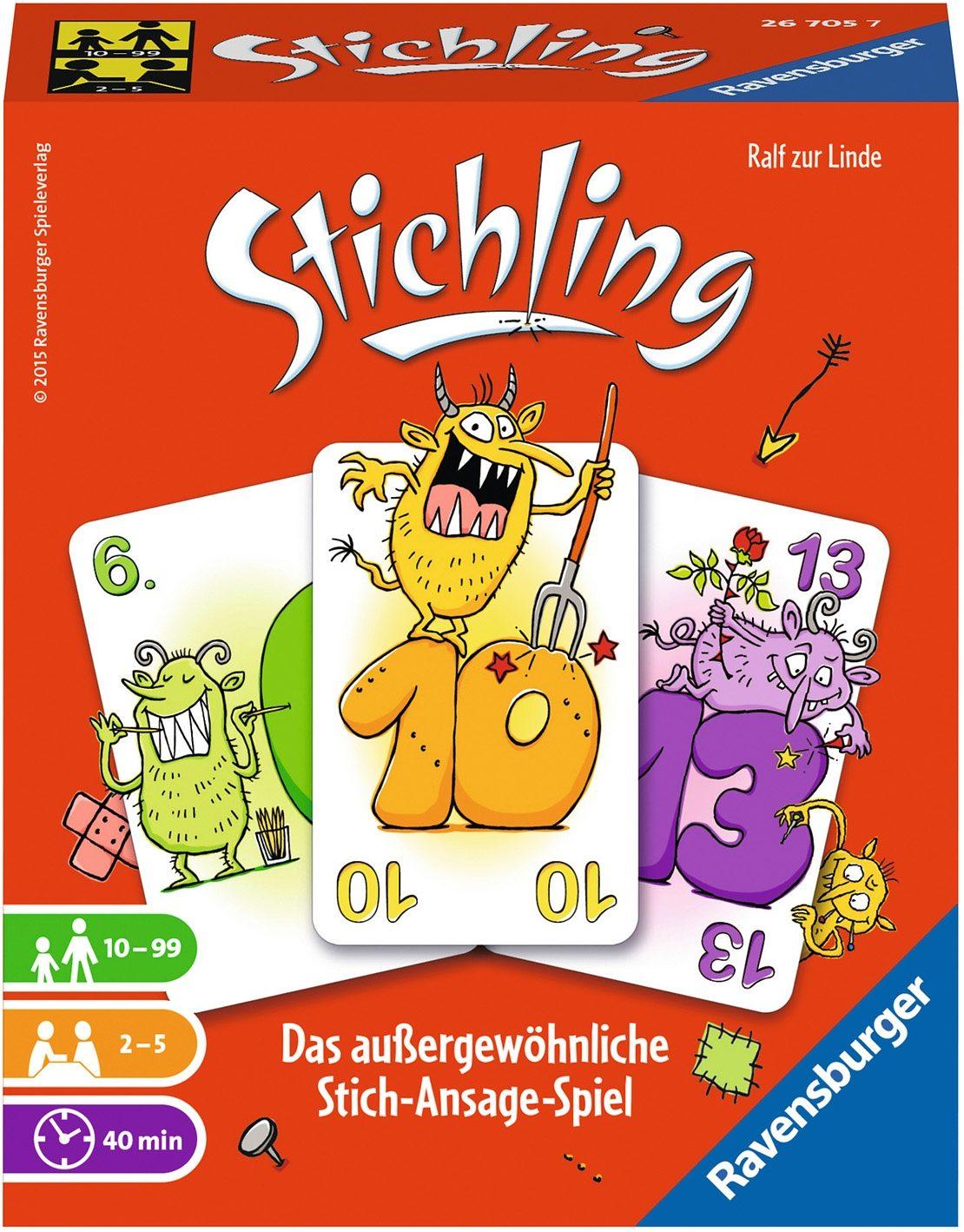 Ravensburger Kartenspiel, »Stichling«