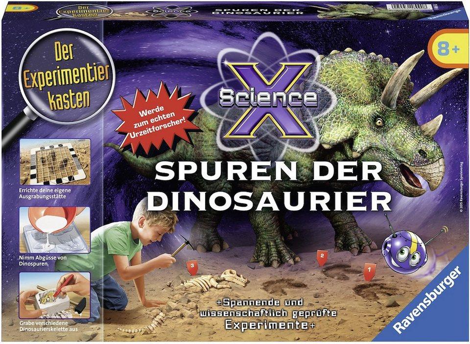 Ravensburger Experimentierkasten, »X Science® Spuren der Dinosaurier«
