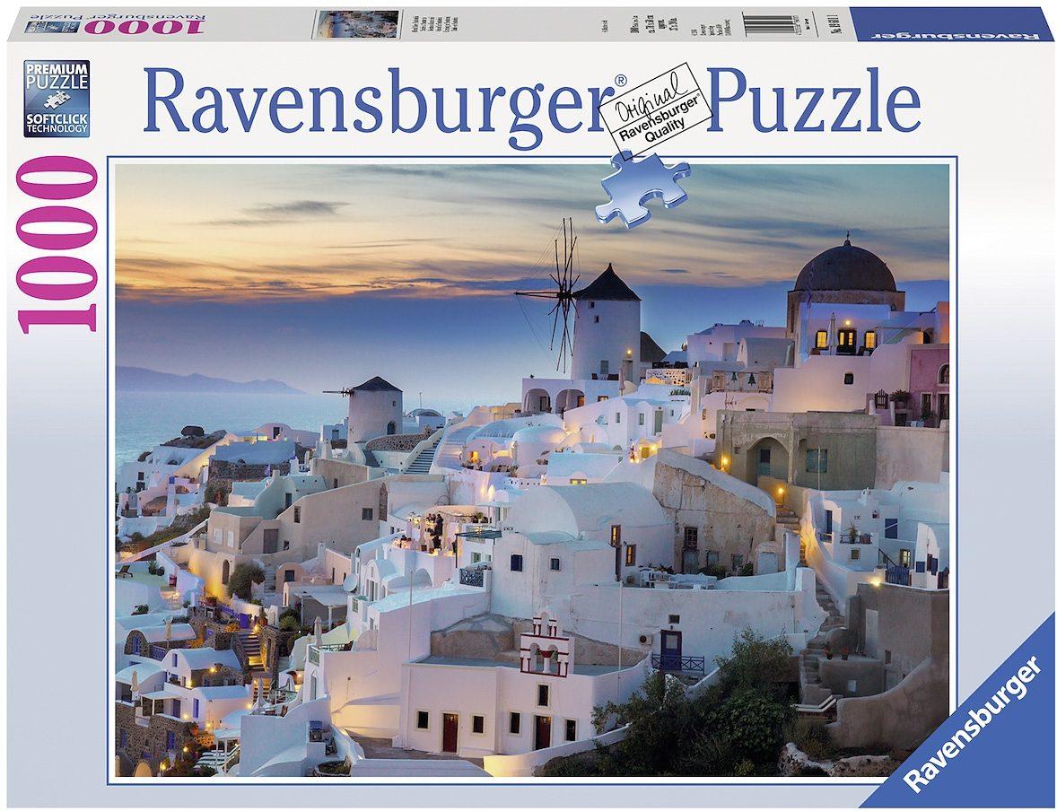 Ravensburger Puzzle, 1000 Teile, »Abend über Santorini«