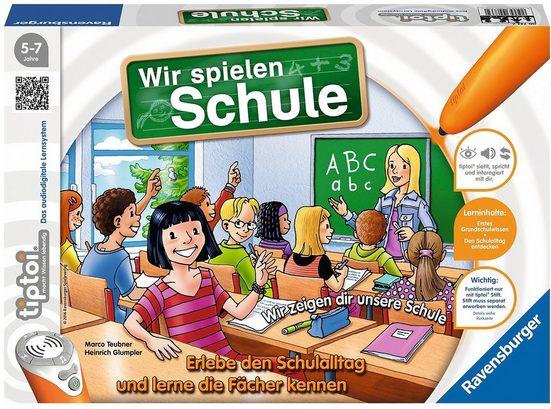 Ravensburger Spiel, »tiptoi® - Wir spielen Schule«, Made in Europe, FSC® - schützt Wald - weltweit
