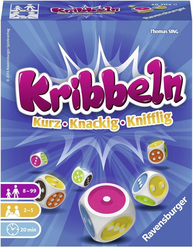 Ravensburger Würfelspiel, »Kribbeln«
