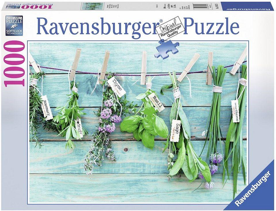 Ravensburger Puzzle, 1000 Teile, »Kräutergarten«
