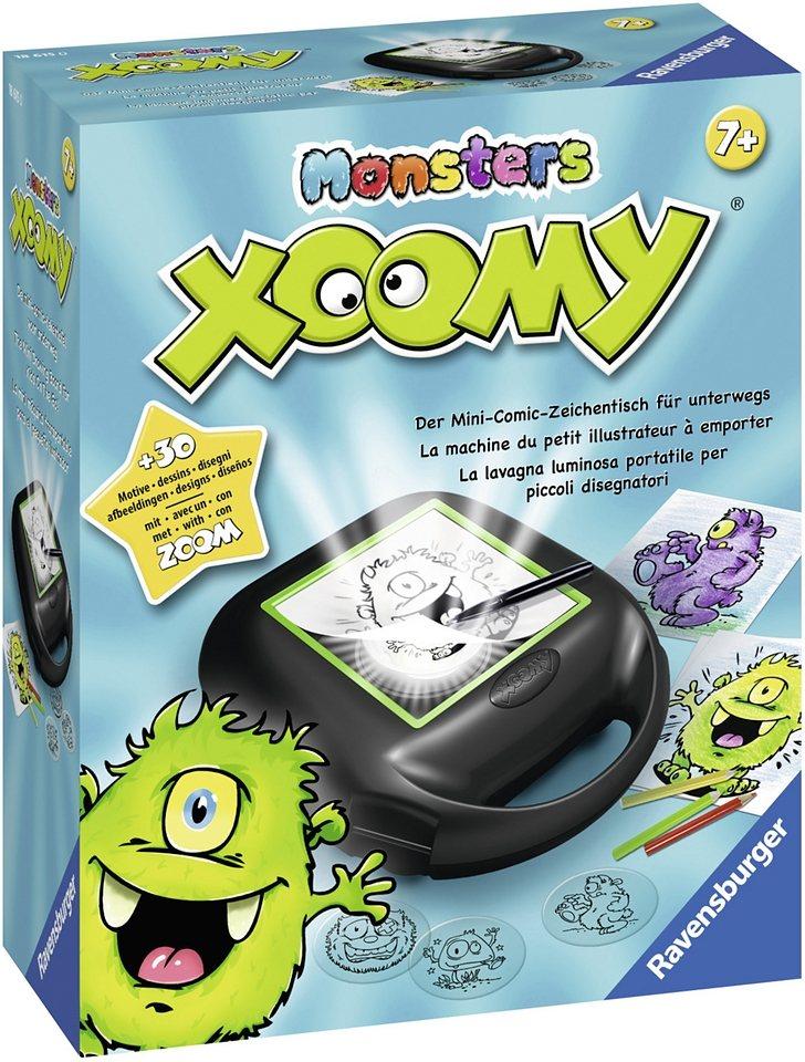 Ravensburger Zeichentisch, »Xoomy® Monsters«