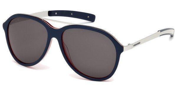 Dsquared² Sonnenbrille » DQ0225« in 92A - blau/grau