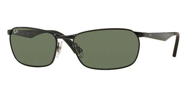 RAY-BAN Herren Sonnenbrille » RB3534« in 002 - schwarz/grün