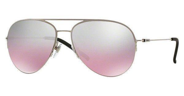DKNY Damen Sonnenbrille » DY5080« in 10027E - silber/silber