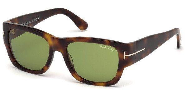 Tom Ford Herren Sonnenbrille » FT0493« in 52N - braun/grün