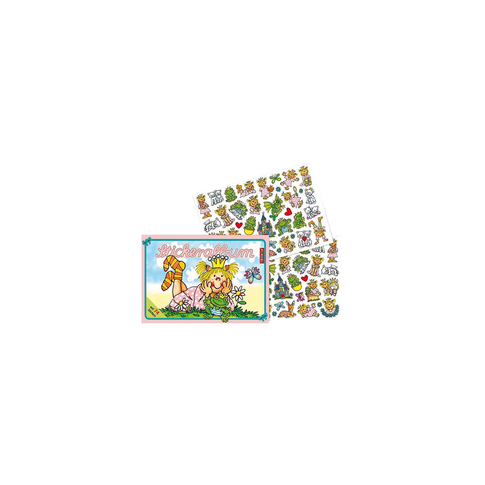 Lutz Mauder Verlag Stickerbuch Prinzessin Miabella