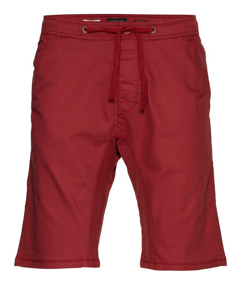Casual Friday Shorts in Rot