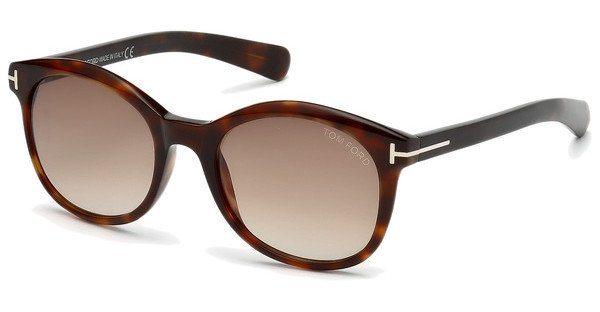 Tom Ford Damen Sonnenbrille »Riley FT0298« in 52F - braun/braun