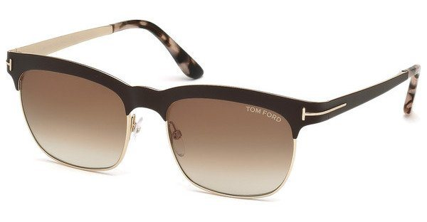 Tom Ford Damen Sonnenbrille »Elena FT0437« in 48F - braun/braun