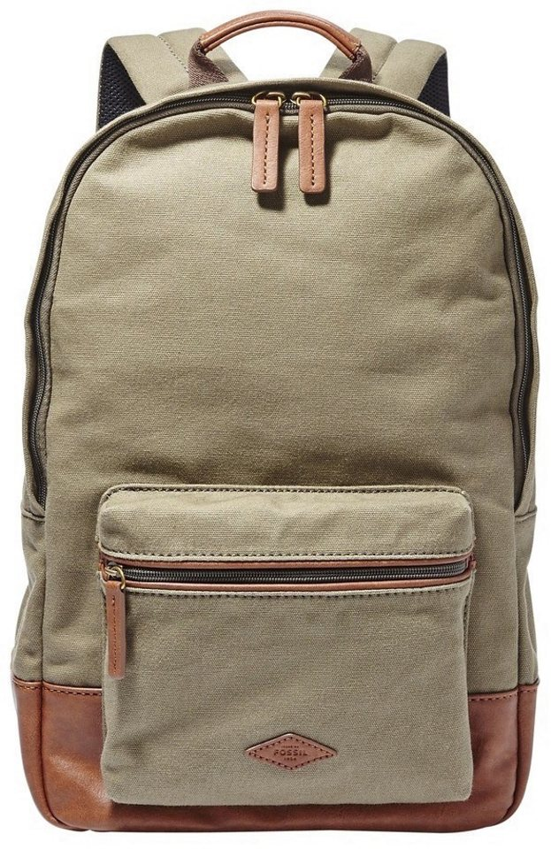 Fossil Rucksack ESTATE BACKPACK in oliv