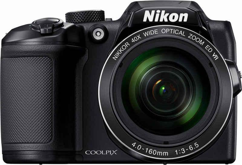 Nikon »Coolpix B500« Kompaktkamera (16 MP, 40x opt. Zoom, WLAN (Wi-Fi), NFC, Bluetooth, 40 fach optischer Zoom)