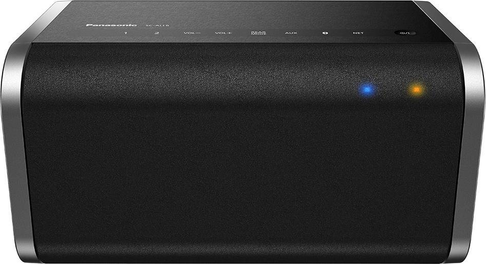 Panasonic SC-ALL6 2.0 Multiroom-Lautsprecher (Bluetooth, NFC, WiFi, Spotify) in schwarz