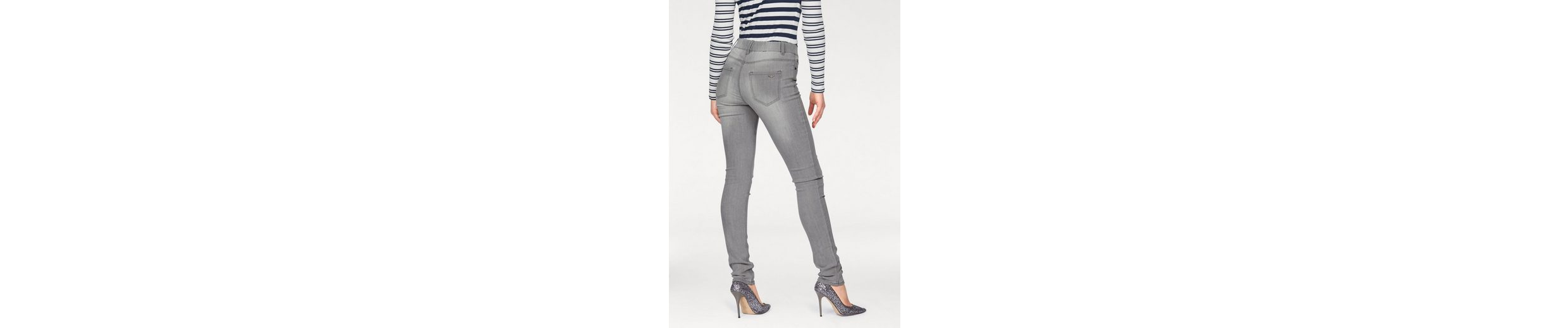 Arizona Slim-fit-Jeans mit innenliegendem Gummibund, High Waist