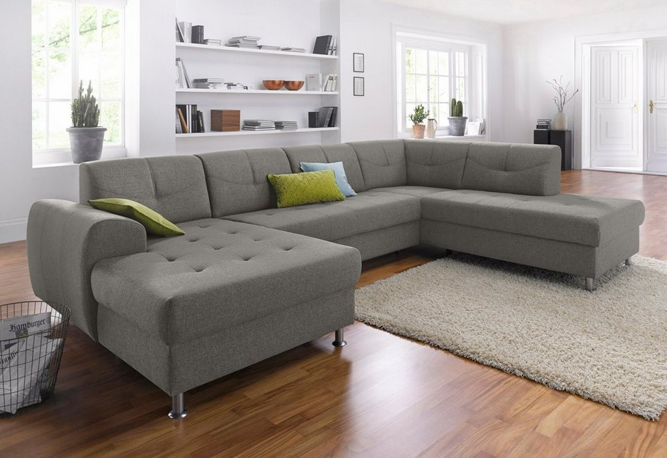 gala colezzione wohnlandschaft wahlweise mit bettfunktion. Black Bedroom Furniture Sets. Home Design Ideas