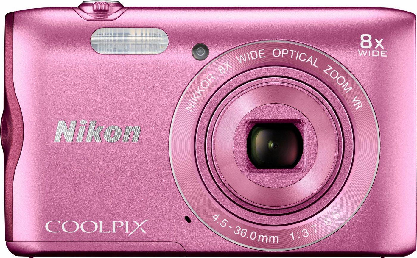 Digitalkameras - Nikon »Coolpix A300« Kompaktkamera (20,1 MP, WLAN (Wi Fi), NFC, Bluetooth, 8 fach optischer Zoom)  - Onlineshop OTTO