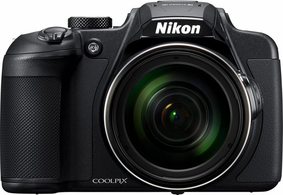 Nikon Coolpix B700 Kompakt Kamera, 20,3 Megapixel, 60x opt. Zoom, 7,5 cm (3 Zoll) Display in schwarz