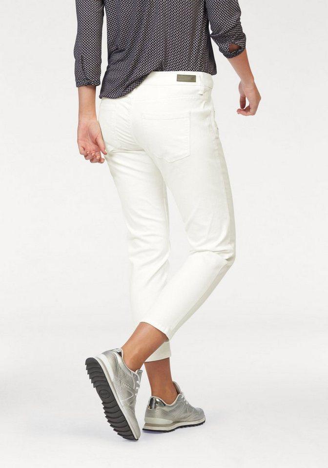 s.Oliver RED LABEL 7/8-Jeans Ziertaschen mit Reißverschluss in wollweiß