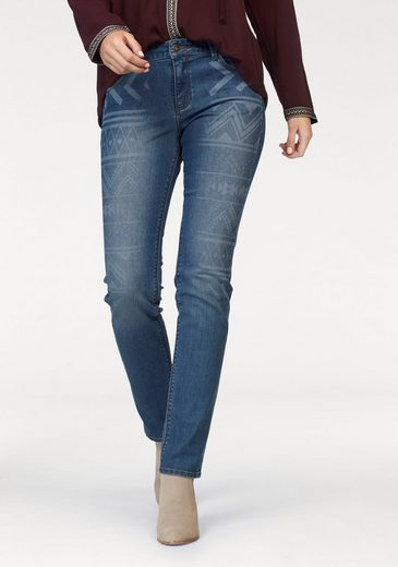 s.Oliver RED LABEL Skinny-fit-Jeans, Laser-Ornamente
