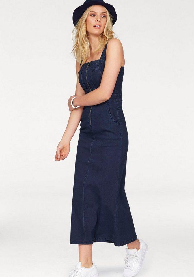 arizona jeanskleid maxi dress online kaufen otto. Black Bedroom Furniture Sets. Home Design Ideas