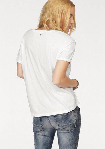 MUSTANG T-Shirt Heart, Frontprint