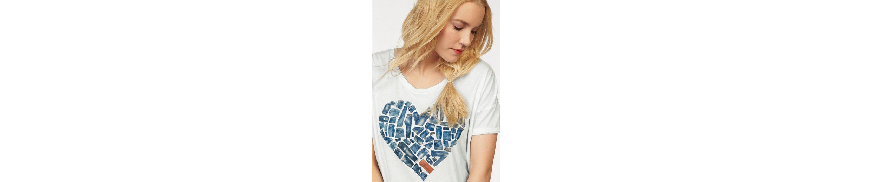 Frontprint MUSTANG Heart T Shirt T Shirt MUSTANG SRqRwY