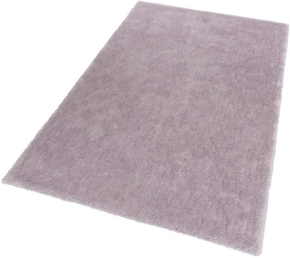 Hochflor-Teppich, Schöner Wohnen, »Vitality«, Höhe 30 mm, getuftet, Wunschmaß in grau