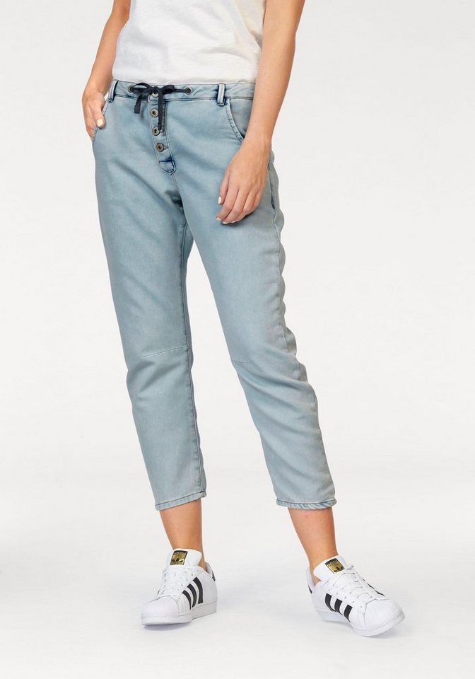 Sandwich Sweathose »Verona« in Jeans-Optik in light-blue-Denim