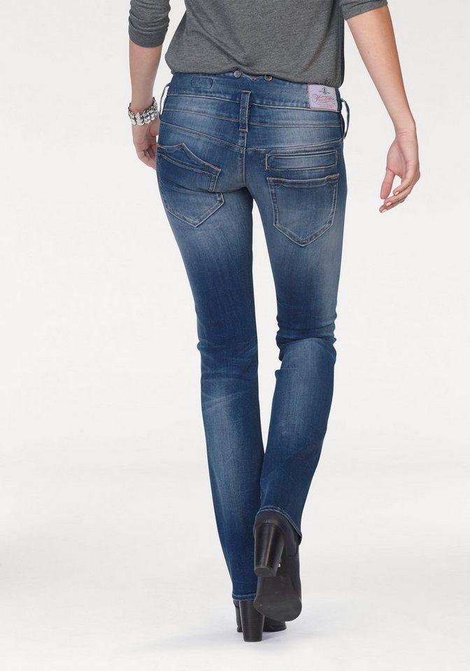 herrlicher straight jeans pitch straight mit stretch. Black Bedroom Furniture Sets. Home Design Ideas