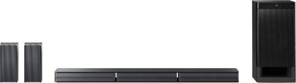 Sony HT-RT3 5.1 Soundbar, Bluetooth, NFC, USB in schwarz