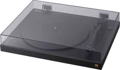 Sony »Sony PS-HX500 Plattenspieler mit High-Resolution-Audio-Ripping-Funktion« Plattenspieler (Riemenantrieb, USB-Schnittstelle)