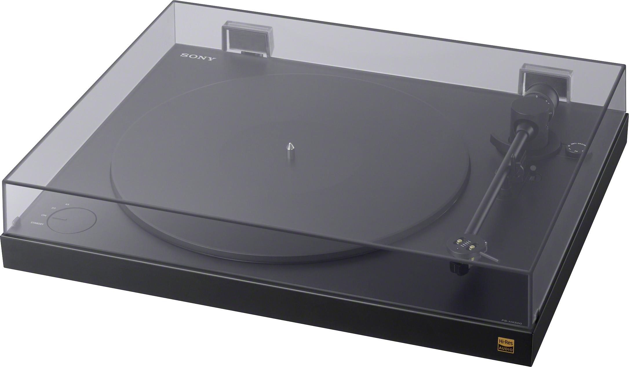 Sony PS-HX500 Plattenspieler mit High-Resolution-Audio-Ripping-Funktion