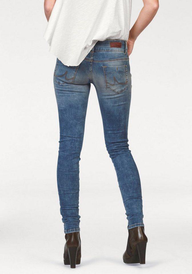 LTB Slim-fit-Jeans »Molly« mit Crinkle-Effekt in cliona-wash