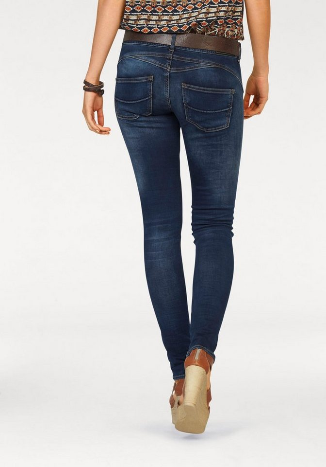 Herrlicher Slim-fit-Jeans »Gila« in easy-blue