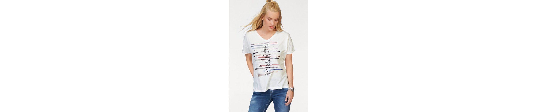 MUSTANG T-Shirt V Neck T, V-Ausschnitt