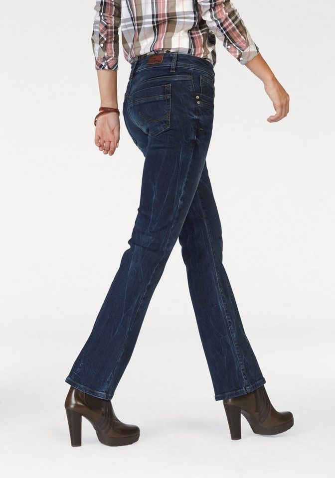 LTB Bootcut-Jeans »Valerie« in amel-undamaged-wash