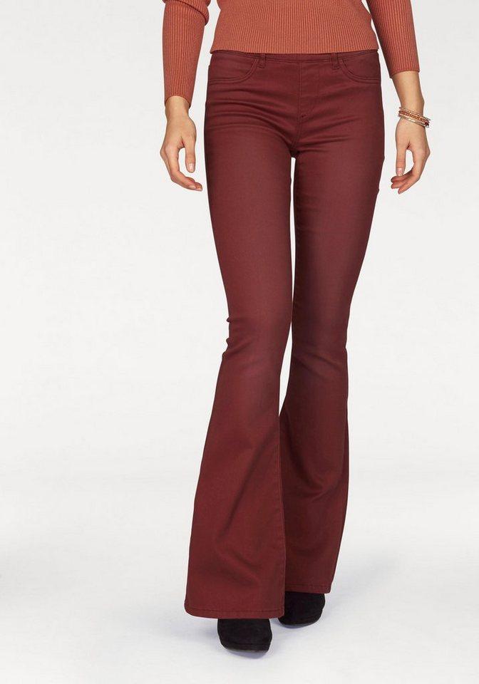 Laura Scott Bootcuthose aus sehr elastischer Qualität in rotbraun