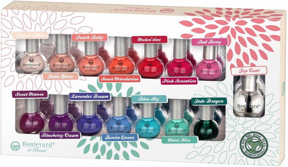Boulevard de Beauté, »Color Concepts For Your Nails«, Nagellack-Set