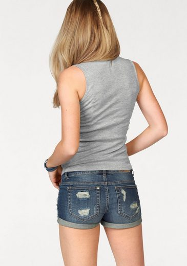 Ajc Tanktop, With Eyelets And Lacing