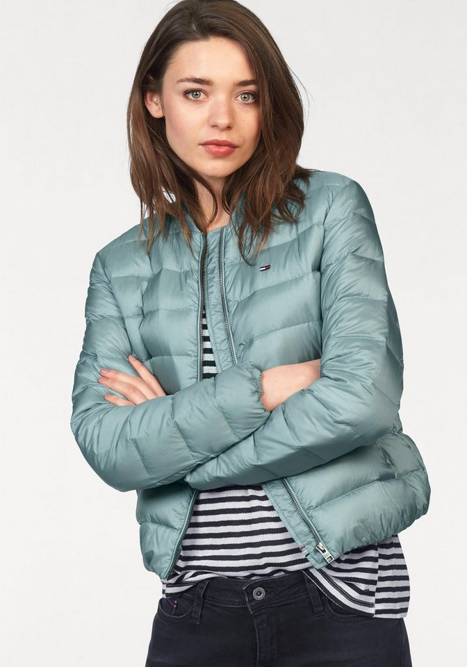 Hilfiger Denim Bomberjacke »Light Down Bomber« in aquablau