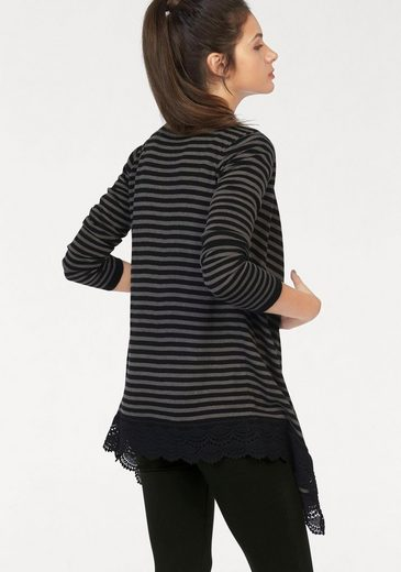Ajc Sweater, Stripes With Tip And