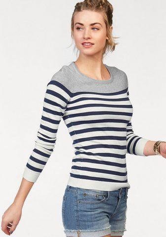 AJC Dryžuotas megztinis